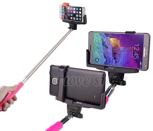 oz just for iphone 6 6s plus 5s unipod bluetooth shutter selfie extendable stick. Black Bedroom Furniture Sets. Home Design Ideas